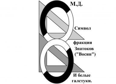 Cимвол Знатоков - МироСпасительной Организации Фуррей-Людей-Оборотней. :3