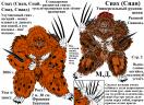 Сиах (Стр 2.) - универсальный рукопашник. Сианоид. Расцветки.